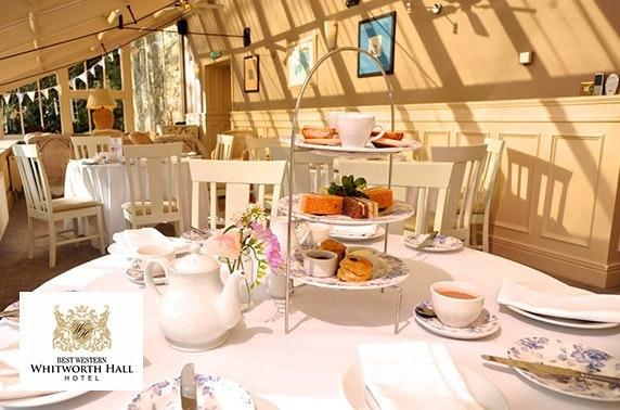 Whitworth Hall afternoon tea