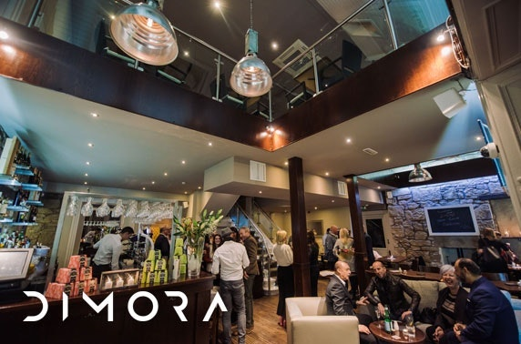 Italian dining & drinks at Dimora, Newton Mearns