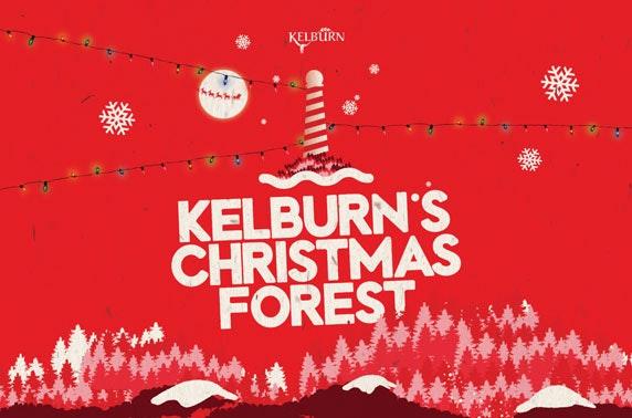 Santa's Secret Forest at Kelburn Estate, nr Largs