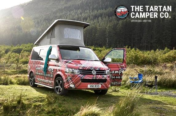The Tartan Camper Co. VW Campervan hire