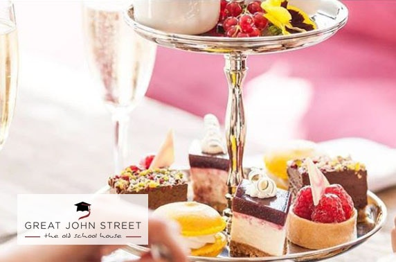 4* Great John Street afternoon tea
