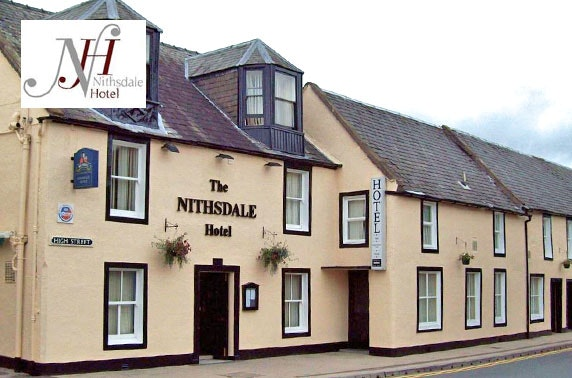 Nithsdale Hotel stay, Dumfries & Galloway