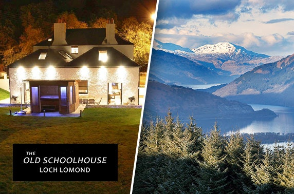 Loch Lomond group getaway – from less than £13pppn