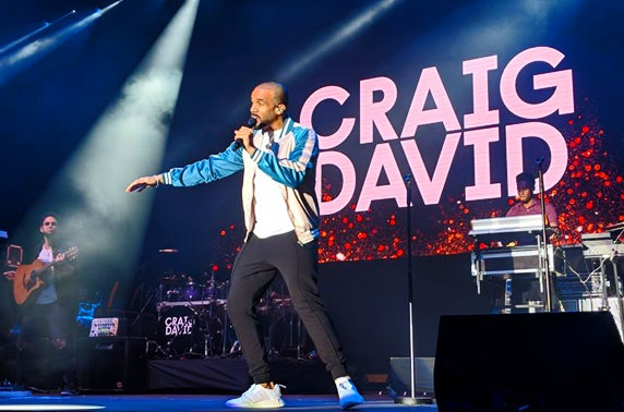 Craig David at Dundee's Caird Hall