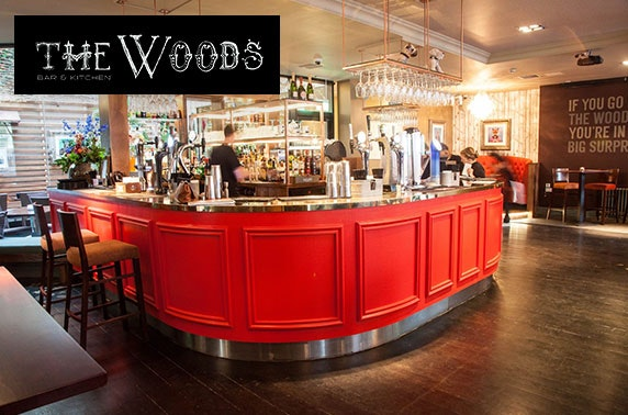 Cocktails & nibbles at The Woods, City Centre