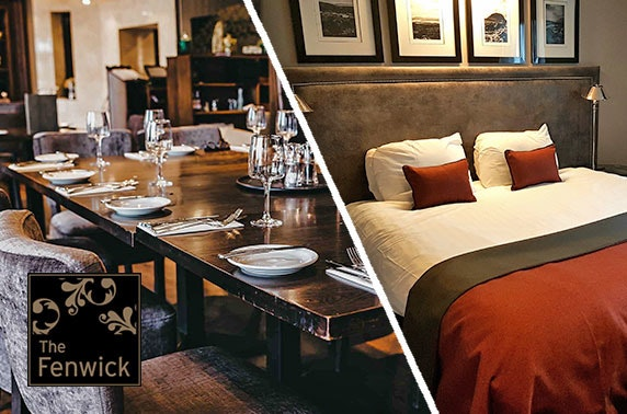 Ayrshire overnight stay with afternoon tea