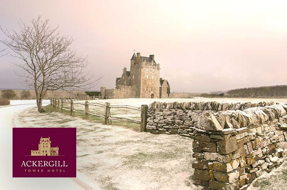 Ackergill Tower winter break - located on the iconic NC500