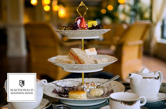 4* Macdonald Houston festive afternoon tea
