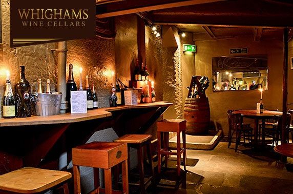 Whighams Wine Cellars sharing boards with drinks