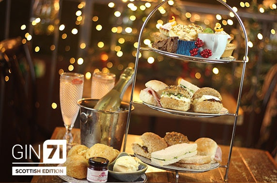 Gin 71 Scottish Edition festive afternoon tea