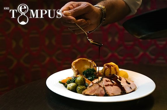 Tempus festive dining, 4* Grand Central Hotel