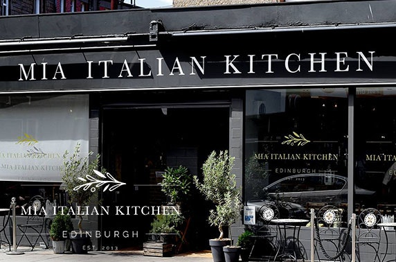 Mia Italian dining & drinks – choice of 2 venues
