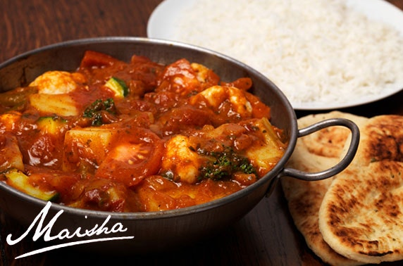 Award-winning Maisha Indian dining, St Andrews