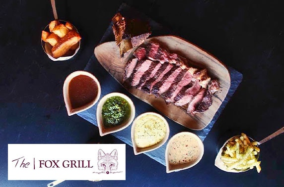 Chateaubriand & Prosecco at The Fox Grill