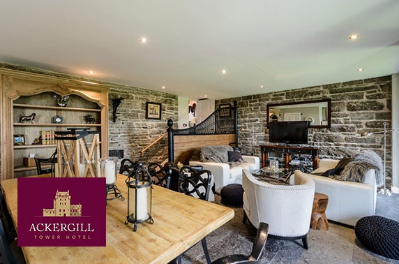 Luxury cottage stay at Ackergill Tower