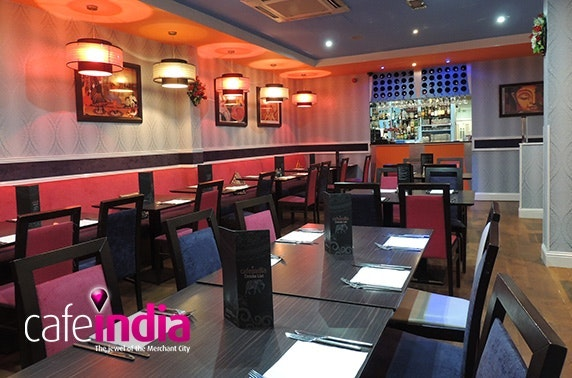 Cafe India lunch, Merchant City