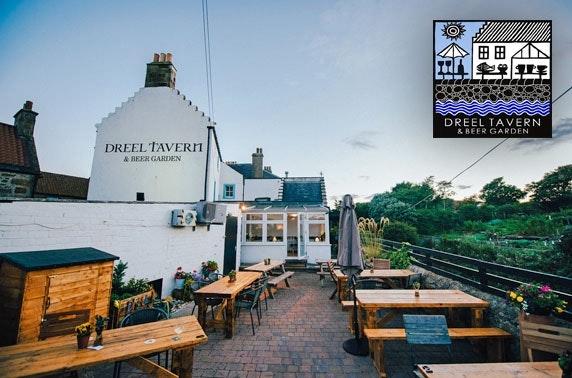 The Dreel Tavern dining, near St Andrews