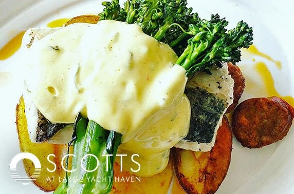 Scotts Kitchen Prosecco lunch, City Centre