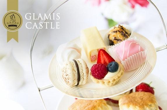 5* Glamis Castle high tea