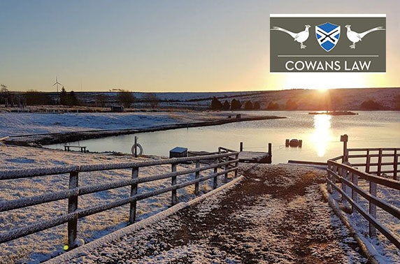 2 or 3 night lodge stay – 20 mins from Glasgow