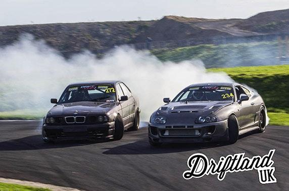 Driftland car racing day - perfect for Xmas