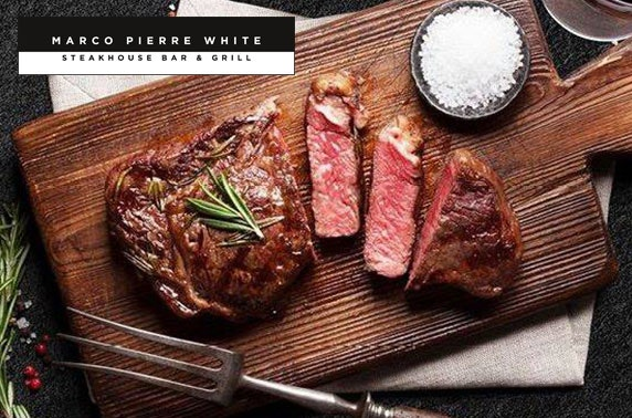 Marco Pierre White food & drinks vouchers
