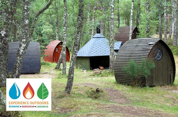 Camping pod break in Cairngorms National Park