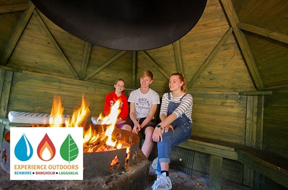 Lodge stay in Cairngorms National Park - from £11pppn