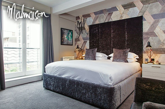 4* Malmaison Edinburgh stay & 2 AA Rosette dining