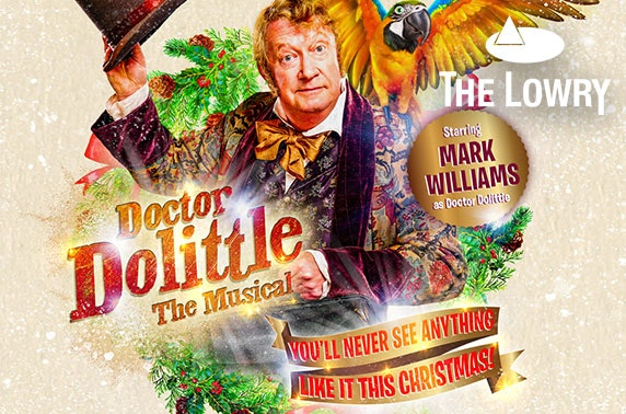 Doctor Dolittle The Musical tickets, The Lowry Theatre