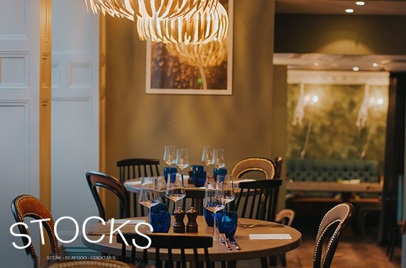 Stocks on The Mound dining & Prosecco