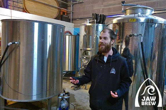 Jaw Brew tour & tasting – official launch!
