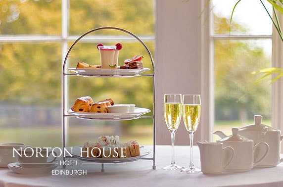 4* Norton House Hotel & Spa, Prosecco afternoon tea