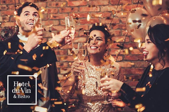 NYE party at 4* Hotel du Vin Newcastle
