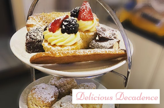 Delicious Decadence afternoon tea