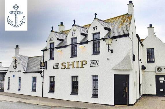 Award-winning The Ship Inn dining - £7.50pp