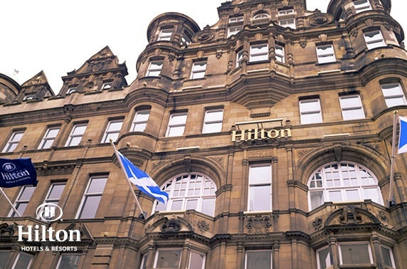 4* Hilton Edinburgh Carlton afternoon tea & fizz