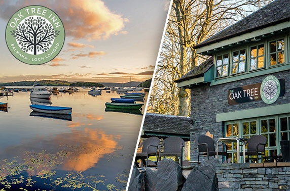 The Oak Tree Inn stay, Loch Lomond - £55