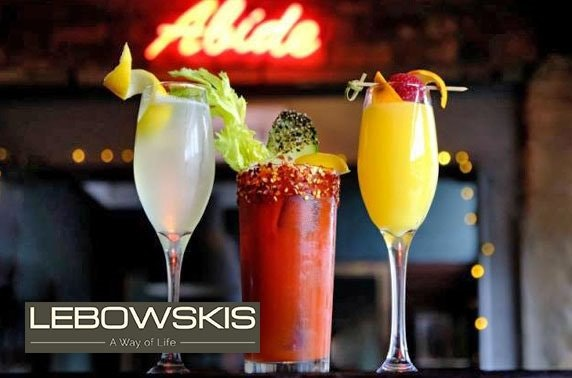 Lebowskis weekend brunch