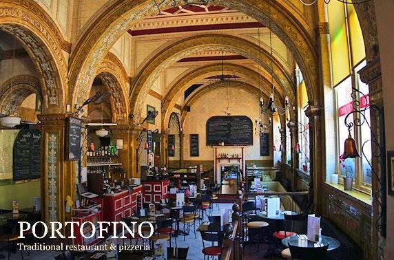 Italian afternoon tea, Portofino