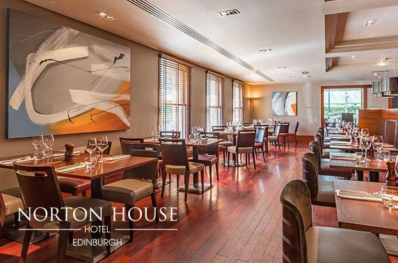 Rosette-awarded dining at 4* Norton House