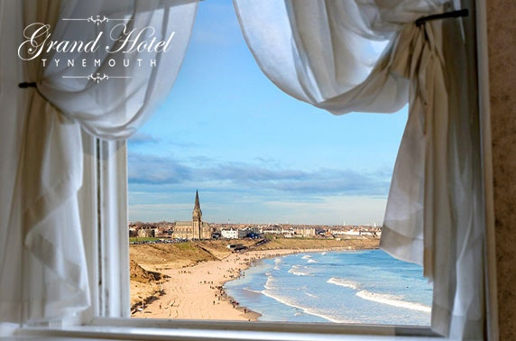 Tynemouth seafront escape - £69