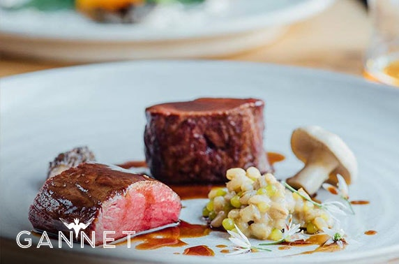 Michelin-recommended The Gannet 4 or 8 courses