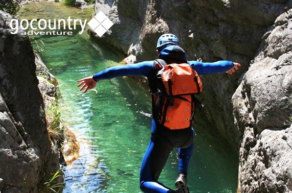 Go Country canoeing & cliff jumping