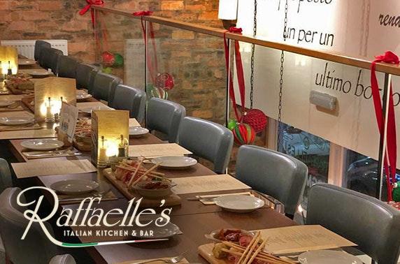 Raffaelle's mezzanine dining & drinks, Bearsden