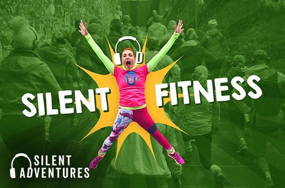 Silent Adventure fitness tours, City Centre