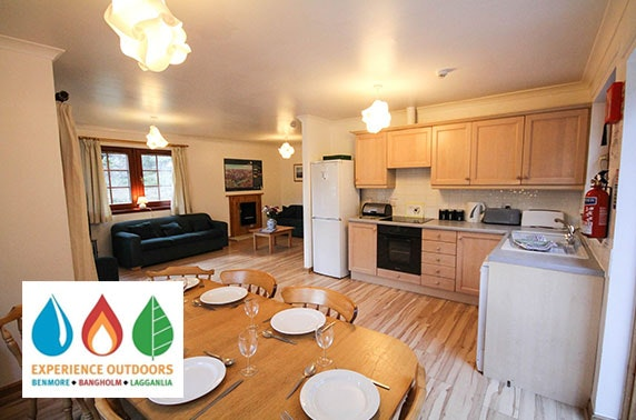 Lodge stay in Cairngorms National Park - from £10pppn