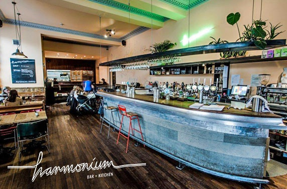 Award-winning Harmonium dining & wine, Leith