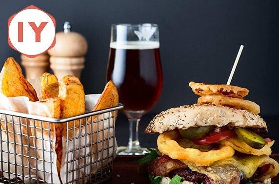 Indigo Yard classic burgers & drinks