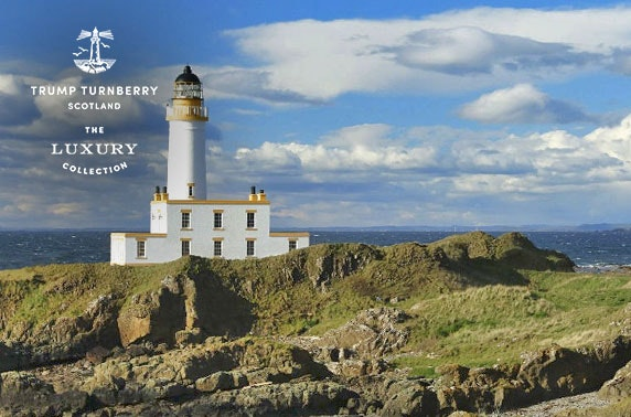 Turnberry luxury spa break
